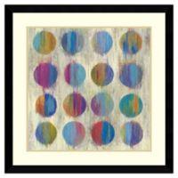 Aimee Wilson Ikat Dots II Framed Print Wall Art