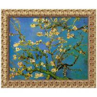 Van Gogh Almond Branches in Bloom Framed Wall Art