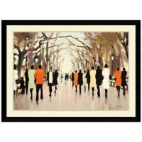 Lorraine Christie Poet's Walk Framed Print Wall Art