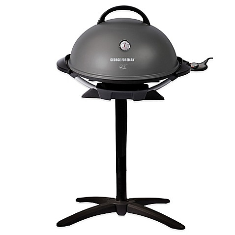 George Foreman 174 Indoor Outdoor Electric Grill Bed Bath