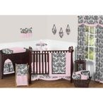 Sweet Jojo Designs Pink Crib Bedding Set