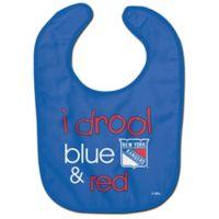 NHL New York Rangers Littlest Fans Baby Bib