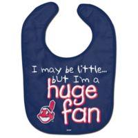 """MLB Cleveland Indians """"Huge Fan"""" Bib"""
