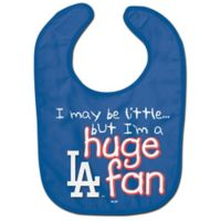 "MLB Los Angeles Dodgers ""Huge Fan"" Bib"