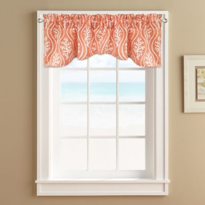 coral reef window valance - Valances
