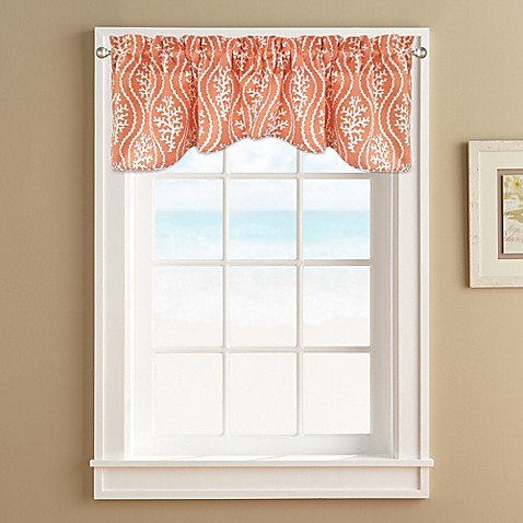 coral reef window valance - bed bath & beyond