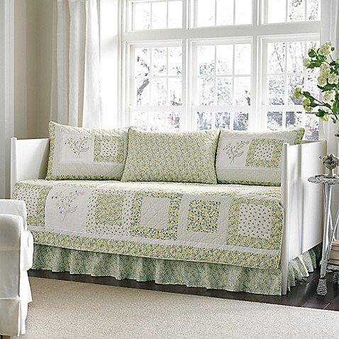 laura ashley elyse daybed bedding set bed bath beyond. Black Bedroom Furniture Sets. Home Design Ideas