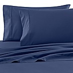Wamsutta® 620 Cotton Deep Pocket Queen Sheet Set in Navy