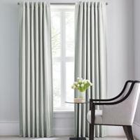 Barbara Barry Modern Drape Rod Pocket/Back Tab 95-Inch Window Curtain Panel in Celadon