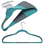 Studio 3B™ 16-count Slim Grips™ Hangers in Aqua