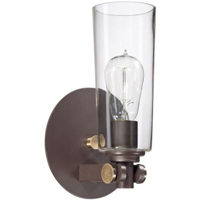 Wall Lamps Bed Bath Beyond : Quoizel Uptown 1-Light East Village Wall Sconce in Western Bronze - Bed Bath & Beyond
