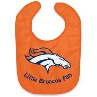 """NFL Denver Broncos """"Little Broncos Fan"""" Bib"""