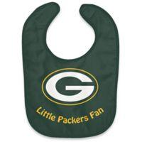 """NFL Greenbay Packers """"Little Packers Fan"""" Bib"""