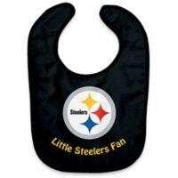 """NFL Pittsburgh Steelers """"Little Steelers Fan"""" Bib"""