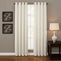 Ashton Grommet 84-Inch Window Curtain Panel in White