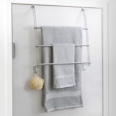 Totally Bath Over The Door Towel Bar in Chrome & Buy Over Door Towel Bars from Bed Bath u0026 Beyond pezcame.com
