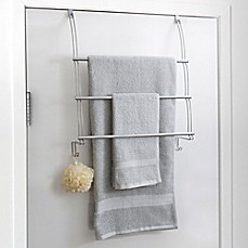 Delightful Totally Bath Over The Door Towel Bar