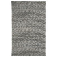 Genevieve Gorder by Capel Rugs Ancient Arrow 5-Foot x 8-Foot Tufted Rug in Grey