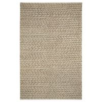 Genevieve Gorder by Capel Rugs Ancient Arrow 5-Foot x 8-Foot Tufted Rug in Beige