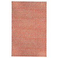 Genevieve Gorder by Capel Rugs Ancient Arrow 8-Foot x 10-Foot Tufted Rug in Red