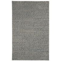 Genevieve Gorder by Capel Rugs Ancient Arrow 9-Foot x 12-Foot Tufted Rug in Grey