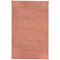Genevieve Gorder by Capel Rugs Ancient Arrow 9-Foot x 12-Foot Tufted Rug in Red