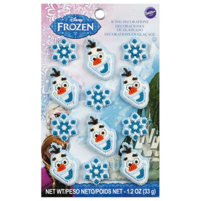 Wilton Disney Frozen Icing Decorations Set Of 12