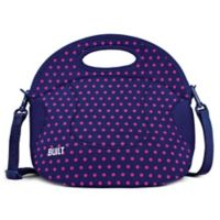 Built NY® Neoprene Mini Dot Spicy Relish Lunch Tote in Navy