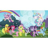 York Wallcoverings My Little Pony Ponyville Chair Rail Prepasted Mural