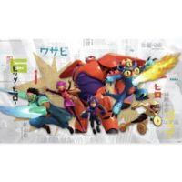 York Wallcoverings Big Hero 6 XL Chair Rail Prepasted Mural
