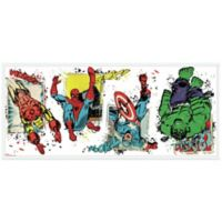 York Wallcoverings Marvel® Superhero Burst Peel and Stick Giant Wall Decals