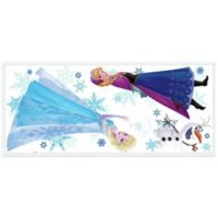 "York Wallcoverings Disney® ""Frozen"" Anna, Elsa, and Olaf Peel and Stick Giant Wall Decals"