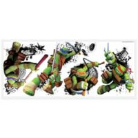 York Wallcoverings Teenage Mutant Ninja Turtles in Action Peel and Stick Giant Wall Decals