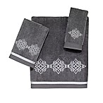 Avanti Riverview Hand Towel in Nickel/Silver