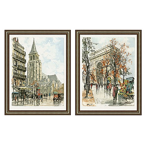 Paris Wall Art Collection Bed Bath Amp Beyond