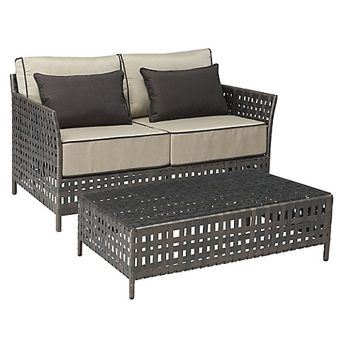 Zuo Pinery Patio Furniture Collection Bed Bath Beyond