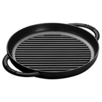 Staub 10-Inch Cast Iron Pure Grill in Black Matte