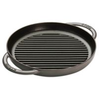 Staub 10-Inch Cast Iron Pure Grill in Graphite