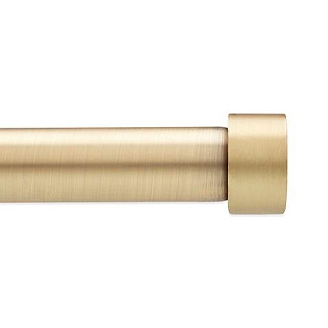 Wonderful Umbra® Cappa Decorative Window Curtain Hardware In Brushed Brass   Bed Bath  U0026 Beyond