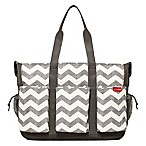 SKIP*HOP® Double Duo Hold-It-All Diaper Bag in Chevron