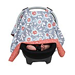 Balboa Baby® Car Seat Canopy in Grey Dahlia