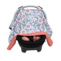 Balboa BabyR Car Seat Canopy In Grey Dahlia