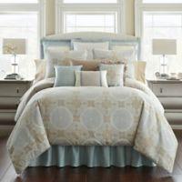 Waterford® Linens Jonet European Pillow Sham in Cream/Blue
