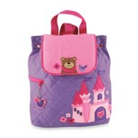 Stephen Joseph Princess Quilted Backpack in Purple