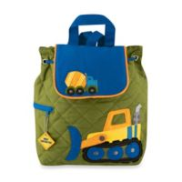 Stephen Joseph Construction Quilted Backpack in Green