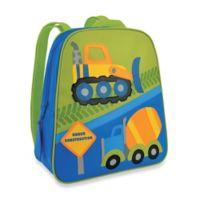 Stephen Joseph Construction Go Go Backpack in Blue/Green