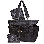 Wendy Bellissimo™ Quilted Diaper Tote in Black