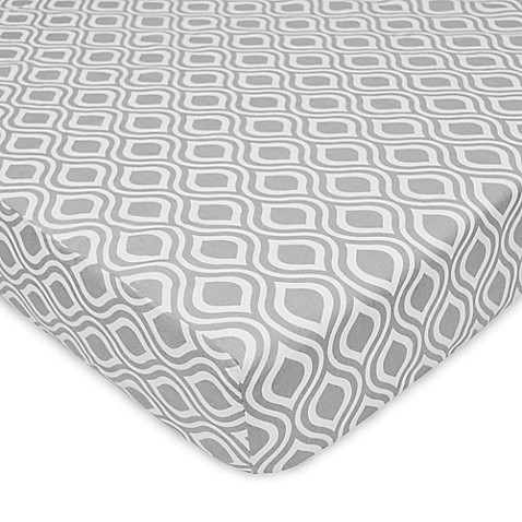 Cotton Percale Fitted Crib Sheets