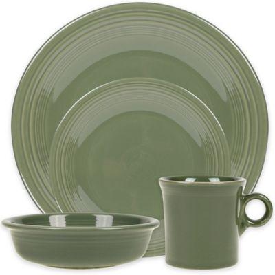 Fiesta® 4-Piece Place Setting in Sage  sc 1 st  Bed Bath \u0026 Beyond & Buy Sage Green Dinnerware Sets from Bed Bath \u0026 Beyond