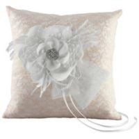 Ivy Lane Design™ Bianca Ring Pillow in White